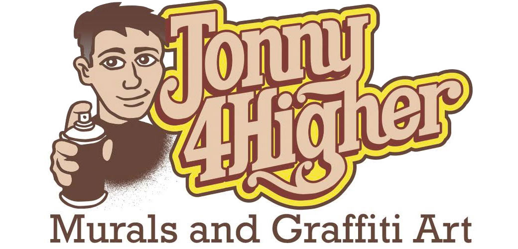 Jonny 4Higher - Murals and Graffiti Art