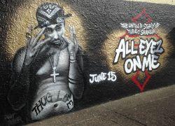 Tupac-movie-mural