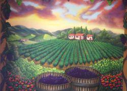 Tuscan-mural