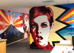 Twiggy-pop-art-mural
