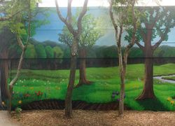 spring-forest-mural