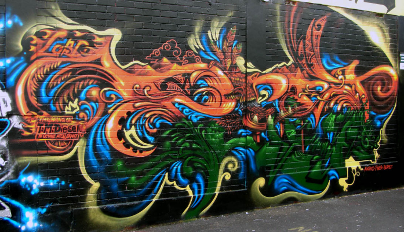 Graffiti - NZ Murals a...