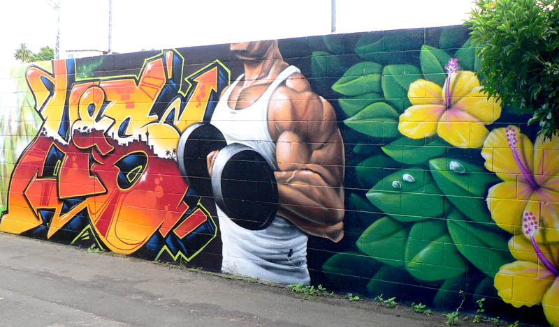 graffiti wallpaper for walls nz