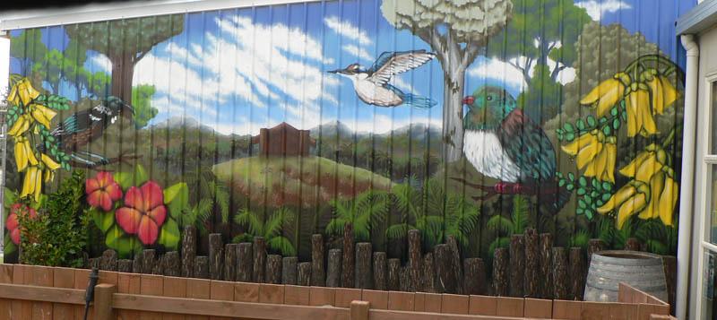 Totara Taupo mural