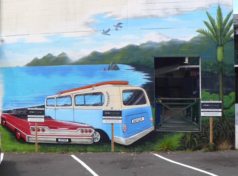 car park mural