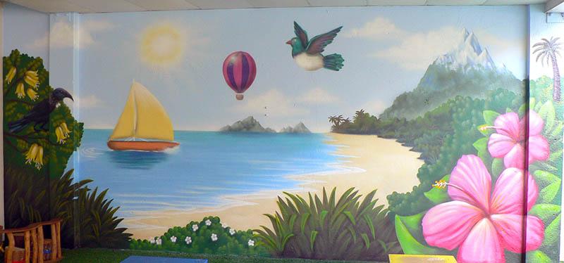 creche mural