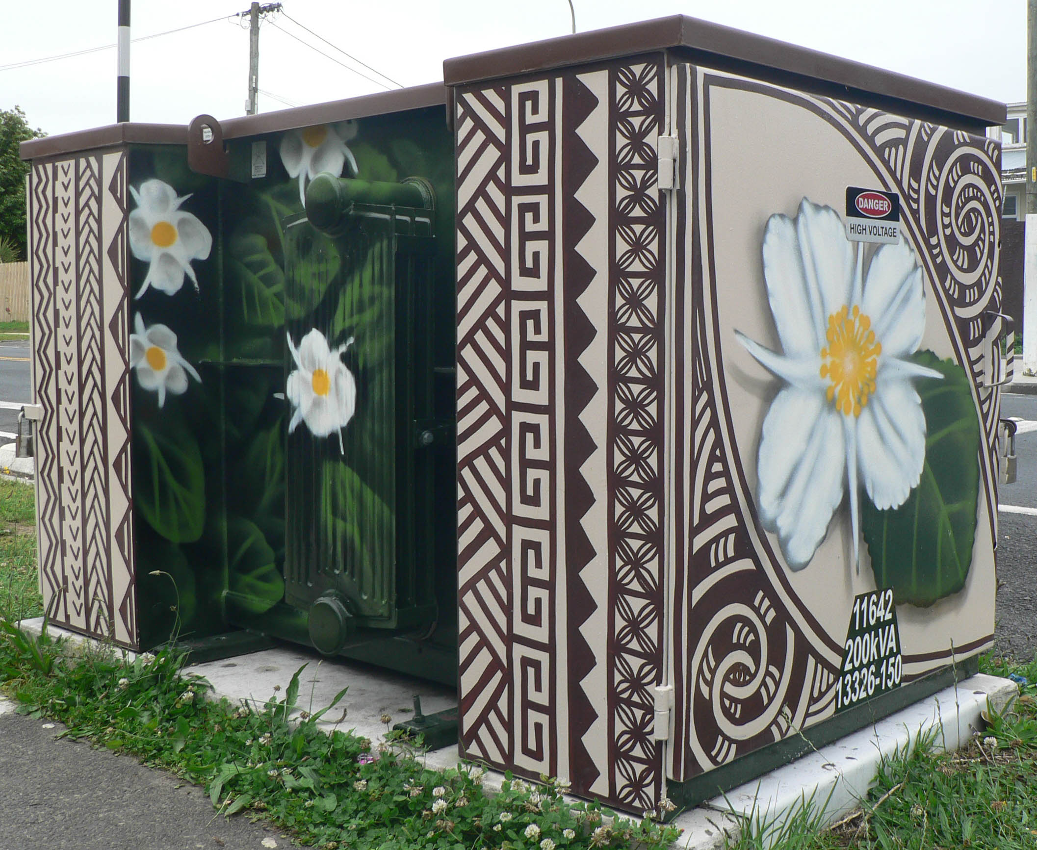 Auckland utility box art