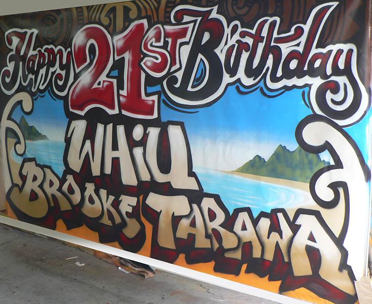 NZ 21st banner
