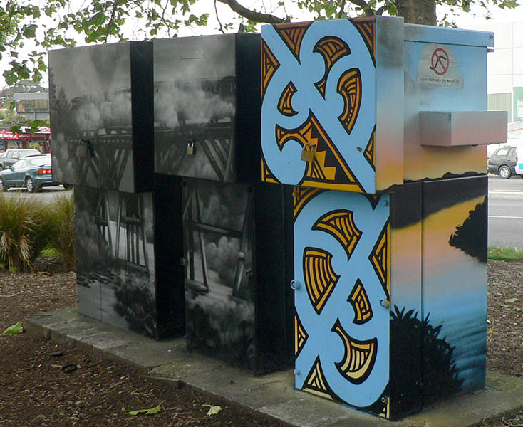 NZ utility box art
