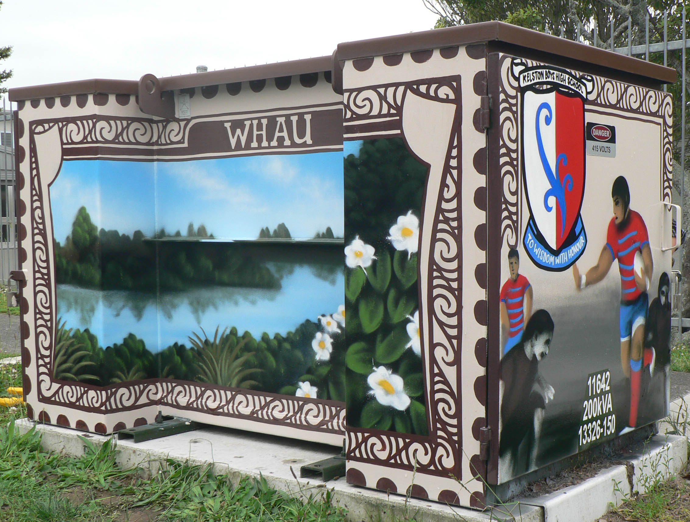 West Auckland utility box art