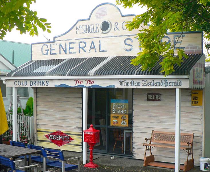 vintage NZ dairy