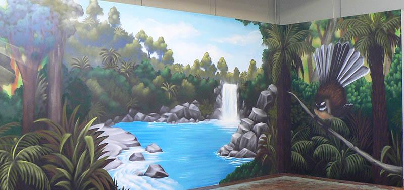 wall mural chch