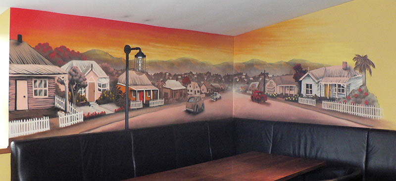 Auckland mural