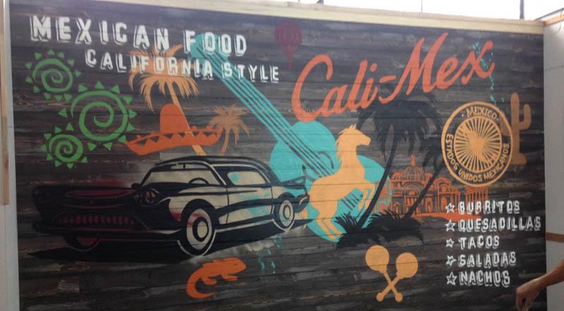 Calimex street art mural