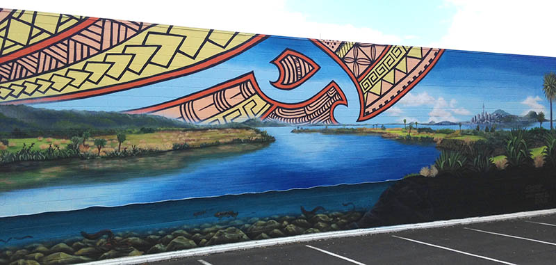 Auckland mural 1
