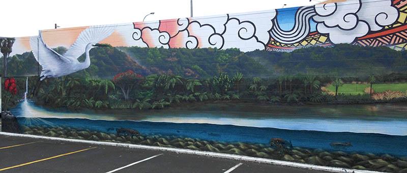 Auckland mural 2