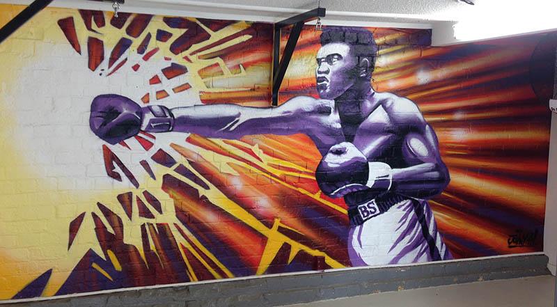 Ali mural