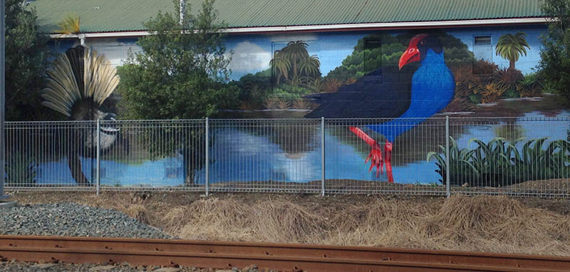 NZ community mural