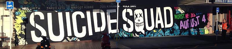 Suicide Squad mural