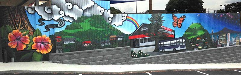 Nz Murals And Graffiti Art Jonny 4higher