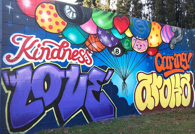 Auckland school mural